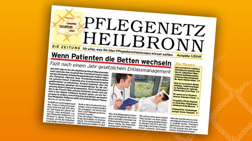 Pflegenetz Zeitung<br/>Ausgabe 1/2019